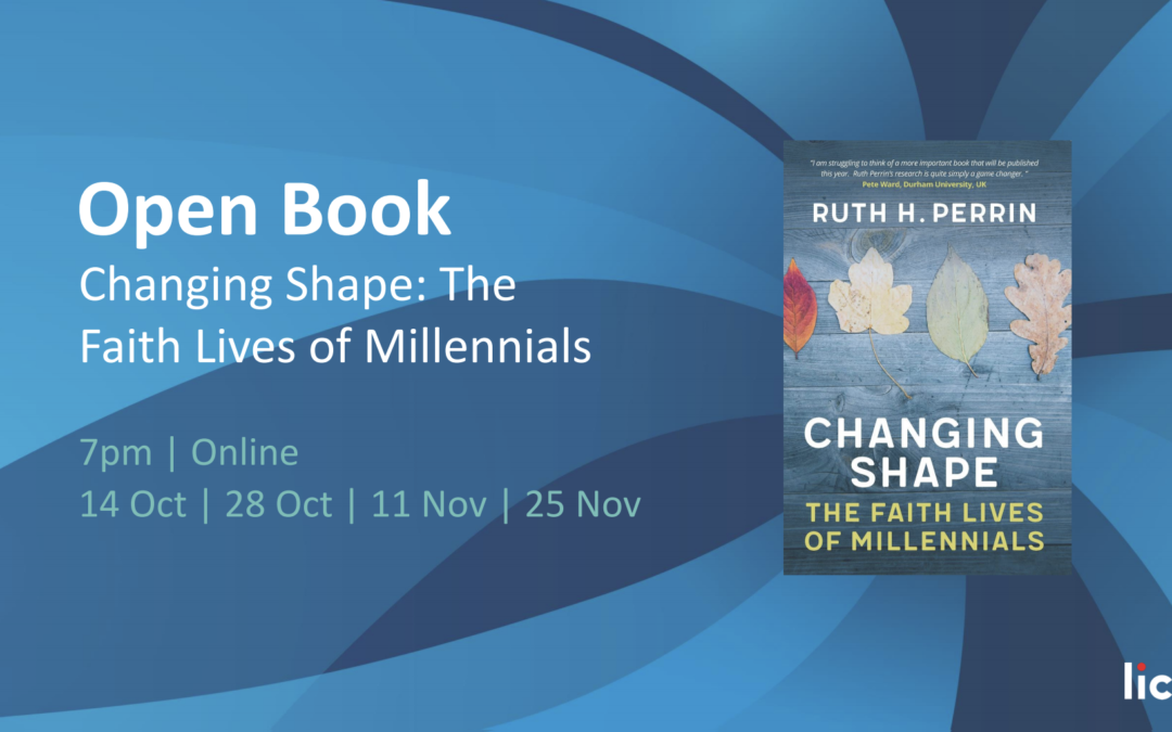 "New book ""Changing Shape: The Faith Lives of Millennials"" (I)"
