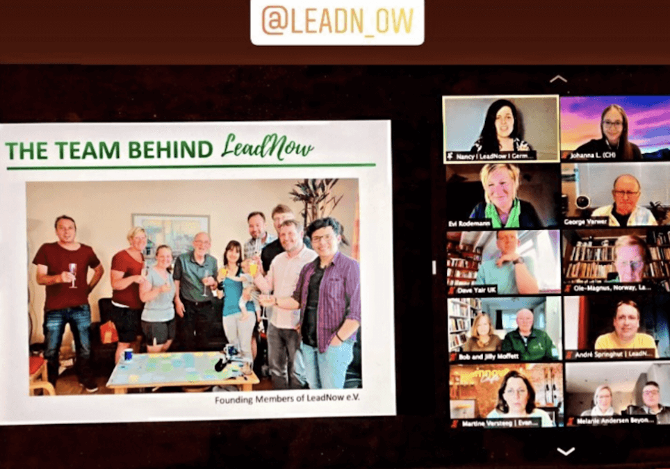 "Had such a fantastic launch of my organisation ""LeadNow"""